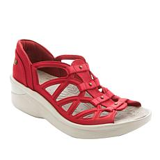 """""""As Is"""" Bzees Sapphire Washable Gladiator Sandal"""