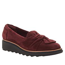 """""""As Is"""" Clarks Collection Sharon Dasher Suede Loafer"""