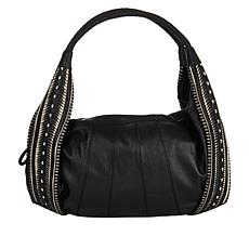 """""""As Is"""" Clever Carriage Portofino Handcrafted Leather Hobo"""