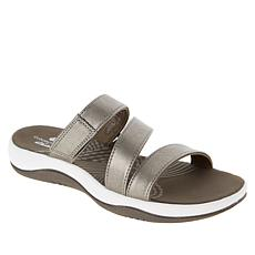 """""""As Is"""" CLOUDSTEPPERS™ by Clarks Sunmaze Coast Slide Sandal"""
