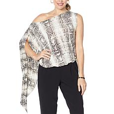 """""""As Is"""" Coldesina Jenny Adjustable Neck Top"""