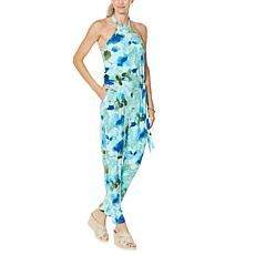 """""""As Is"""" Colleen Lopez Halter Jumpsuit with Pockets"""
