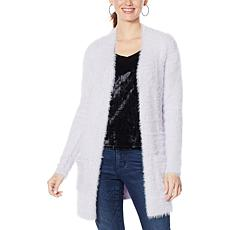 """As Is"" Colleen Lopez Snuggle Knit Cozy Cardigan"