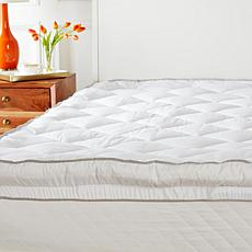 """""""As Is"""" Concierge Collection Diamond Skirt Mattress Pad"""
