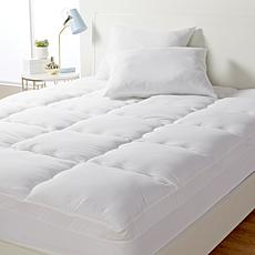 """As Is"" Concierge Collection Dupont Comfort Dry Mattress Pad & Pill..."