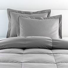 """As Is"" Concierge Collection Platinum 100% Cotton Standard Shams 2-..."