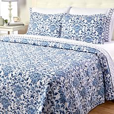 """As Is"" Cottage Collection 7-piece Quilt and Sheet Set"