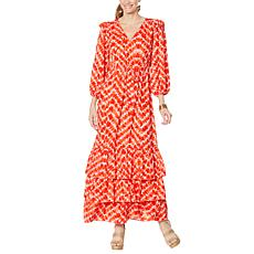 """As Is"" Curations Batik Dress"