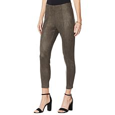 """As Is"" Curations Faux Suede Pull-On Jegging"