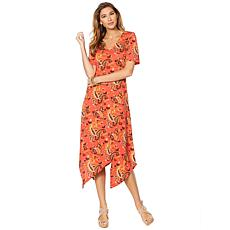 """""""As Is"""" Curations Printed Knit Dress"""