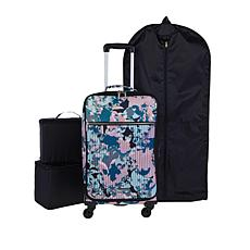 """As Is"" Danielle Nicole Modern Jetsetter Waterproof Carry On Luggage"