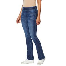"""""""As Is"""" Democracy """"Ab""""solution® Itty Bitty Bootcut Glider Jean"""