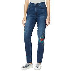 """""""As Is"""" DG2 by Diane Gilman Classic Stretch Cross Stitch Skinny Jean"""
