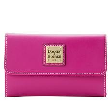 """""""As Is"""" Dooney & Bourke Beacon Vachetta Leather Flap Wallet"""