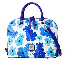 """As Is"" Dooney & Bourke Bloom Zip Zip Satchel"