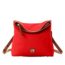 """As Is"" Dooney & Bourke Nylon Flapover Crossbody"