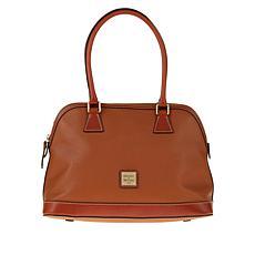"""As Is"" Dooney & Bourke Pebble Leather Shaina Satchel"