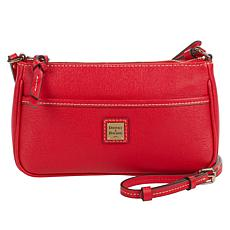 """As Is"" Dooney & Bourke Saffiano Leather Lola Pouchette Crossbody"