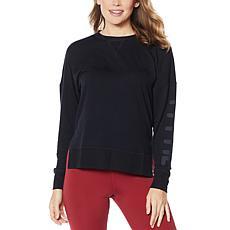 """""""As Is"""" Fila Genie Knit Pullover Sweatshirt"""