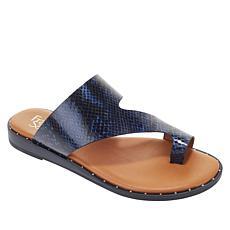 """As Is"" Franco Sarto Ginny Studded Leather Sandal"