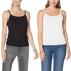 """""""As Is"""" G by Giuliana 2-pack Layering Cami"""