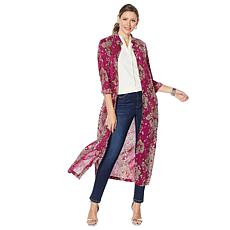 """""""As Is"""" G by Giuliana Button-Down Duster Shirt"""