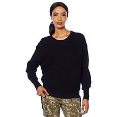 """""""As Is"""" G by Giuliana Crew-Neck Sweater"""