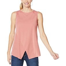 """""""As Is"""" G by Giuliana Crossover Tank Top"""