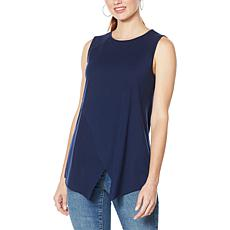 """As Is"" G by Giuliana Crossover Tank Top"