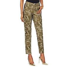 """As Is"" G by Giuliana Embellished Cargo Pant"