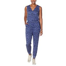 """""""As Is"""" G by Giuliana LounGy SoSoft Knit Jogger Jumpsuit"""