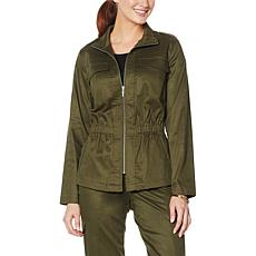 """""""As Is"""" G by Giuliana Utility Jacket"""