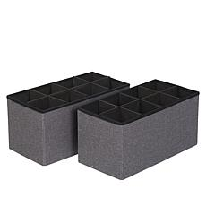 """As Is"" Home36 Collapsible Nonwoven Storage Bins 3-pack"