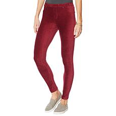 """As Is"" HUE Corduroy Jean Legging"
