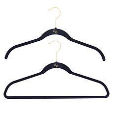 """As Is"" Huggable Hangers 100-pack of Shirt & Suit Hangers with Bras..."
