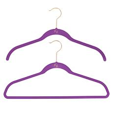 """As Is"" Huggable Hangers Ultimate 100-piece Set - Brass"