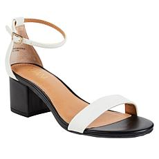"""As Is"" IMAN Boho Chic Colorblock Sandal"