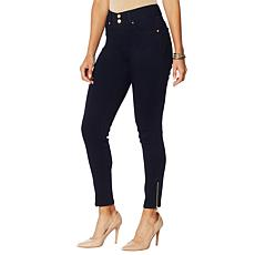 """As Is"" IMAN City Chic 360 Slim Skinny Jean with Ankle Zipper"