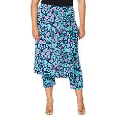 """As Is"" IMAN City Chic Skirt/Pant Combo"