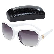 """As Is"" IMAN Global Chic Vented Sunglasses with Case"