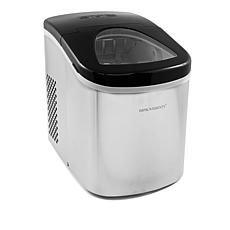 """As Is"" Improvements Compact Stainless Steel Ice Maker"