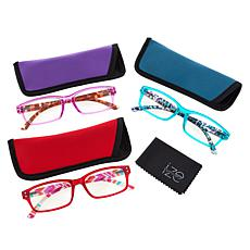 """""""As Is"""" Ize 3-pack Blue Light Readers"""