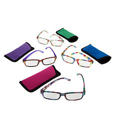 """""""As Is"""" Ize 4-pack Blue Light Readers Strength 0-3.5"""