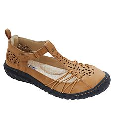 """""""As Is"""" JBU by Jambu Sahara Casual Perforated T-Strap Shoe"""