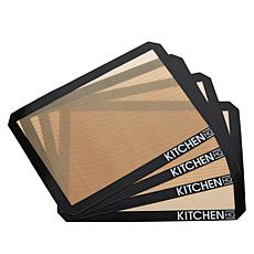 """""""As Is"""" KHQ 4 Pack of 16.5"""" x 11.6"""" Baking Sheets"""