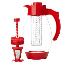 """""""As Is"""" Kitchen HQ 102 fl. oz. 3-in-1 Infusing Tritan Pitcher"""