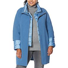 """""""As Is"""" Laurier 3-in-1 Coat with Pockets"""