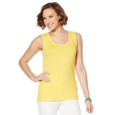 """As Is"" Lemon Way Cotton Blend Two-Pack Tank Set"