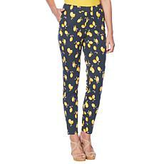 """As Is"" Lemon Way Flawless Twill Pull-On Ankle Pant"