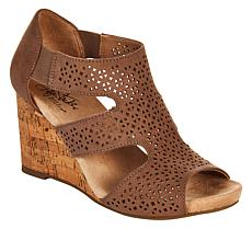 """As Is"" LifeStride Heidi Perforated Wedge Sandal"